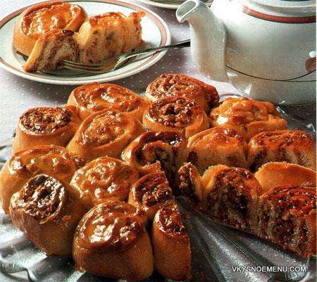 пирог с двумя начинками