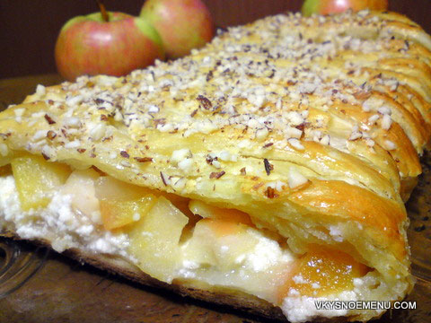 пирог я яблоками