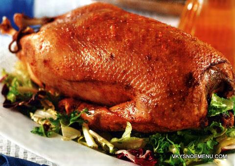 рецепт рождественского гуся