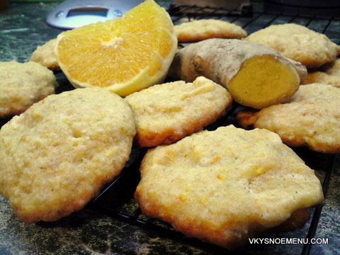 овсяное печенье с апельсином