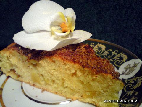 ирландский яблочный пирог