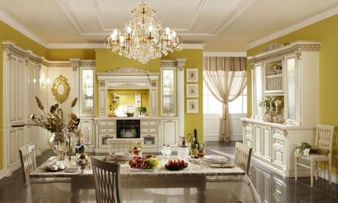 кухни в дворцовом стиле