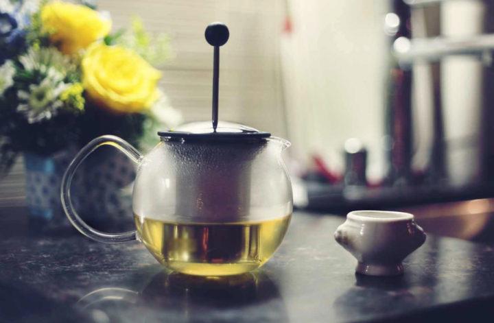 френч пресс и чайная заварка