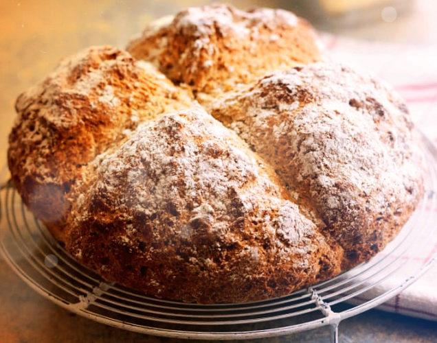 ирландский хлеб без дрожжей