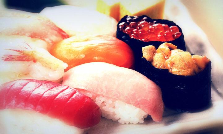 суши роллы для вечеринки