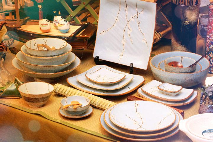 традиционная японская посуда